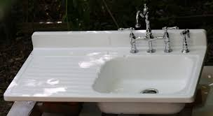 Farmhouse Kitchen Sink With Drainboard Kitchen Sinks With Drainboard Porcelain Affordable Modern Home