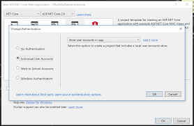 tutorial asp net core 2 0 monkey logon asp net core 2 service with asp net identity