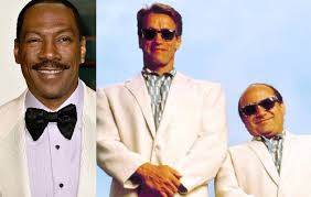 film comedy eddie murphy eddie murphy to play arnold schwarzenegger and danny devito s