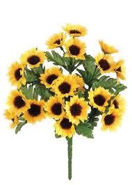 Artificial Sunflowers Silk Flowers Artificial Flowers Afloral Com