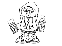 how to draw a character holding 2 spray cans como dibujar un