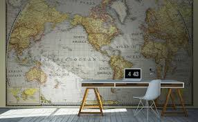 murals by category maps wall mural myloview com go to the product old map mural