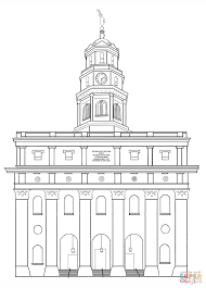 nauvoo lds temple coloring page free printable coloring pages