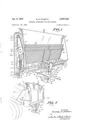 patent us2967056 material spreaders for dump trucks google patents