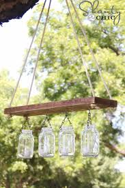 Canning Jar Lights Chandelier 30 Diy Mason Jar Lighting Ideas U2022 Sister On A Budget