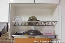 kitchen cabinet dish rack home decoration ideas