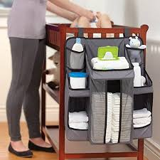 hiccapop nursery organizer and baby diaper caddy hanging diaper
