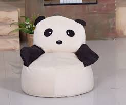 cute bean bag chairs cute panda child bean bag chair buy single sofa chair cool bean