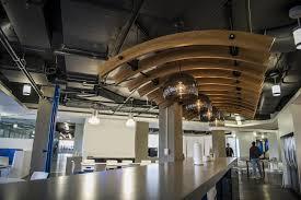 office envy cvent u0027s modern concrete colosseum of tech