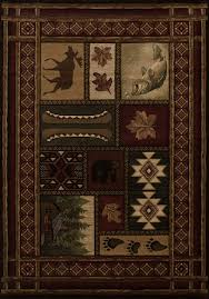 Area Rugs 5 X 8 Cabin Chalet Cabin Decor Area Rug 5x8