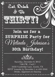 30th surprise party invitations party invitations u2013 gangcraft net
