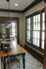 paint colors for dining room with chair rail color pictures dark