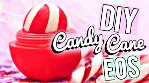diy candy cane eos lip balm easy and quick gift idea christmas