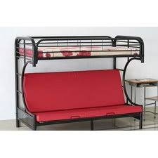 Black Metal Futon Bunk Bed Futon Bunk Bed For Sale Roselawnlutheran