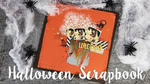 how to make a tim holtz halloween scrapbook sizzix lifestyle