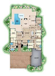 mediterranean style floor plans contemporary house plan 175 1129 4 bedrm 3869 sq ft home
