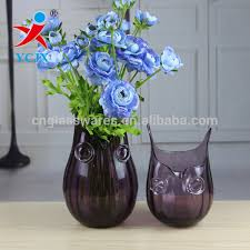 Vase Deco Owl Glass Owl Glass Suppliers And Manufacturers At Alibaba Com