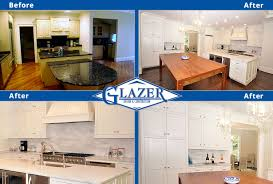 Kitchen Renovation Before And After Home Renovation Before And After Glazer Construction Atlanta