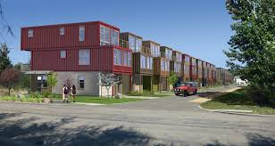 Shipping Container Homes by Developer Uses Cargo Shipping Containers For Houses Ktvb Com