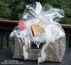 bridal shower gift baskets wedding the creative in between