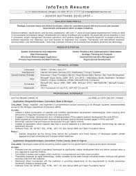 Resume Summary Software Engineer Good Software Engineer Resume Olla Leadwire Co