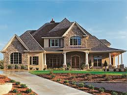 House Plans With Front Porch One Story New American House Plan With 3187 Square Feet And 4 Bedrooms From