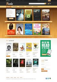 html5 templates for books book store facebook flash template 37308