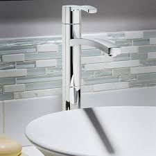 Sink Fixtures Bathroom Berwick Vessel Sink Faucet Without Drain American Standard