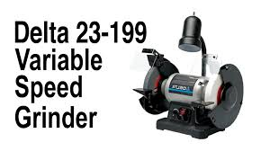 Ryobi Bench Grinder Price Delta 23199 Variable Speed Grinder Youtube