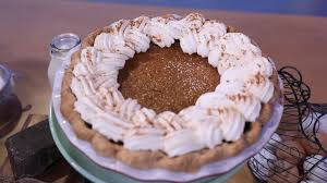 pumpkin custard pie emeril lagasse recipe abc news