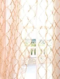 Sheer Coral Curtains Sheer Curtains Rabbitgirl Me