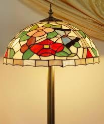 Tiffany Floor Lamp Shades Colorful Tiffany Floor Lamp Classic Floor Standing Lamp Shade