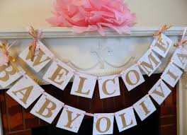 room excellent welcome home banner for a new baby also home