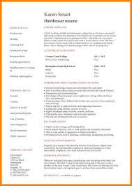 cosmetology resume templates 8 cv simple sample for beautician