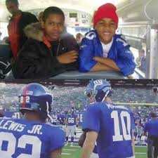 new york giants fan forum roger lewis jr this is one of the coolest things a young giants