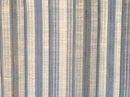 blue stripes curtain fabric by the yard upholstery fabric drapery