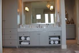 Bathroom Cabinet Modern Modern Slab Flat Panel Cabinet Door Kitchen By Burrows Cabinets