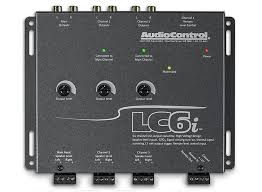 audiocontrol lc2i 2 channel line output converter w accubass and