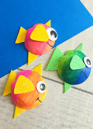 cute seashell fish craft the pennywisemama
