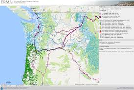 Map Of The Northwest Pacific Northwest Erma Response Restoration Noaa Gov