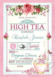 bridal tea party invitation tea party invitation templates free meichu2017 me