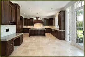 backsplash kitchen with travertine floors travertine kitchen