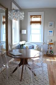 Round Table Rectangular Rug Best 25 Small Round Kitchen Table Ideas On Pinterest Small