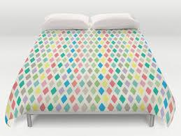 triangle bedding geometric duvet cover geometric bedding king queen full