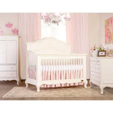 Storkcraft Sheffield Ii Fixed Side Convertible Crib by Evolur Aurora Princess Convertible Crib Evolur Aurora Princess