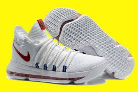 nike kd 10 usa white race blue for sale nike kd