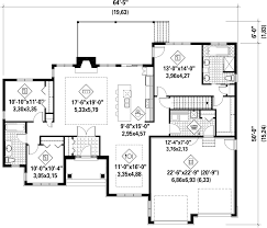 Ranch Style Floor Plan Ranch Style House Plan 3 Beds 2 00 Baths 1836 Sq Ft Plan 25 4456