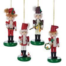 steinbach 12 days of nutcracker ornaments 4 assorted