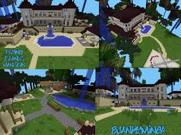 Mpce Maps Flying Islands Mansion Build By Bjankyminer W Download Mcpe