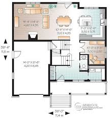 Floor Plan Two Storey House House Plan W3452 V2 Detail From Drummondhouseplans Com